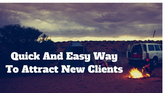 easy way to attract new clients