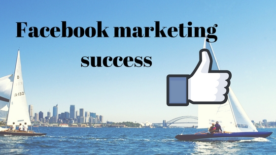 Facebook marketing success